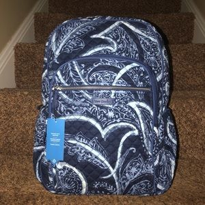 Vera Bradley Iconic Campus Backpack In Indio